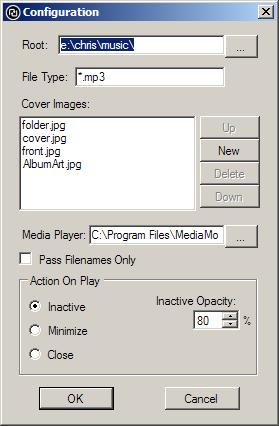 Update Configuration Dialog